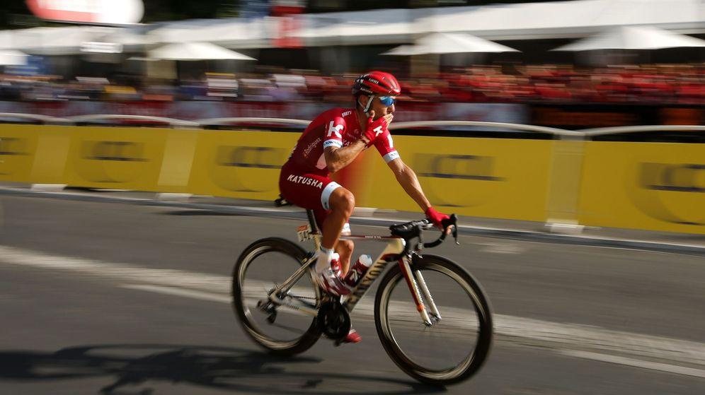 Foto: El Tour de Francia fue la última grande de Purito (Yoan Valat/EFE).