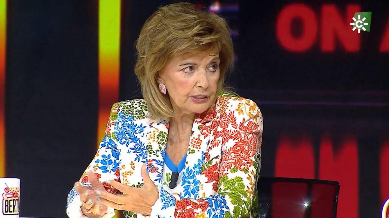 María Teresa Campos, tajante en 'El show de Bertín' con Bigote Arrocet tras su espantada: ¿En qué te he humillado yo?