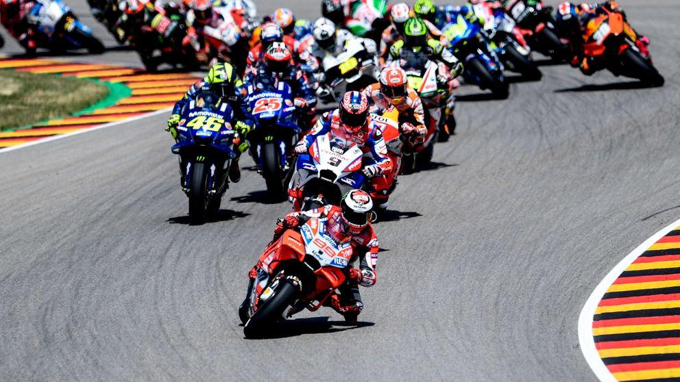 MotoGP y la duda de volver a verse en abierto; Álvarez-Pallete toma la palabra