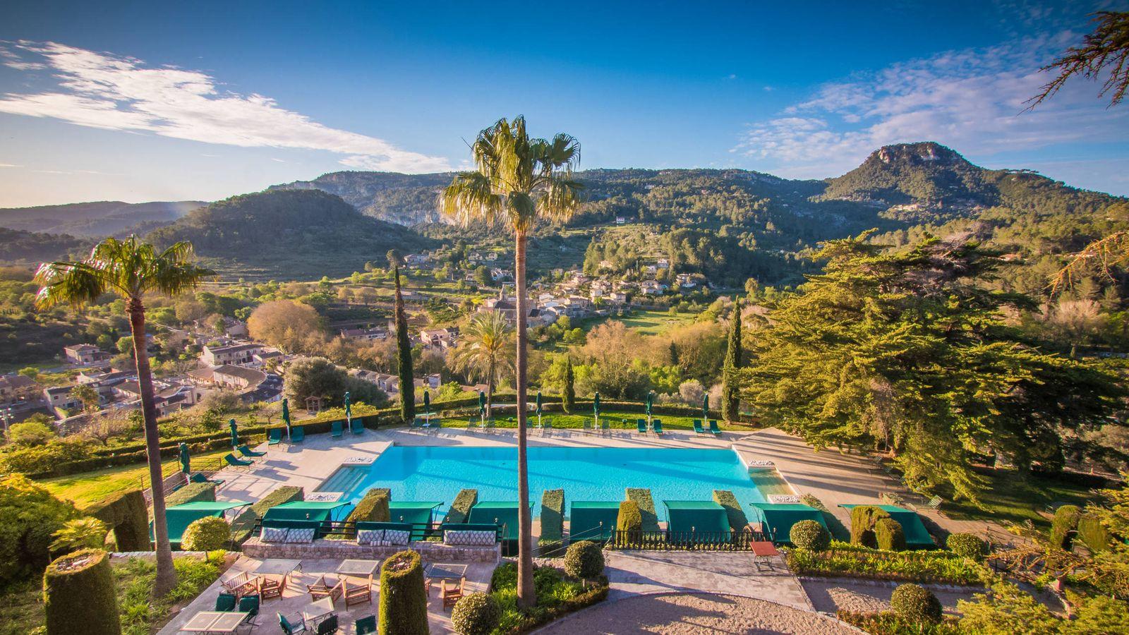 Foto: La piscina del Son Net, en Mallorca, más que apetecible.