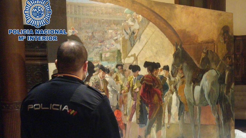 La Policía recupera un cuadro de Sorolla y detiene a un condenado en el caso Malaya