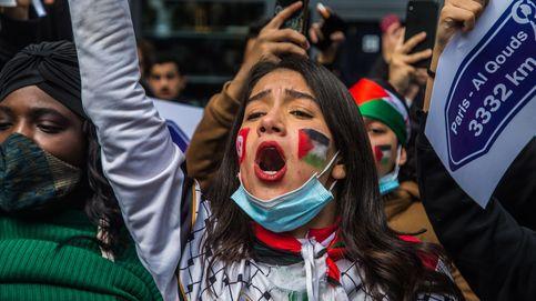 Manifestaciones en Londres, París y Berlín en rechazo a la violencia contra los palestinos