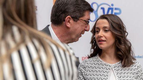 Arrimadas desautoriza a Marín e impone su criterio en contra de Andalucía Suma