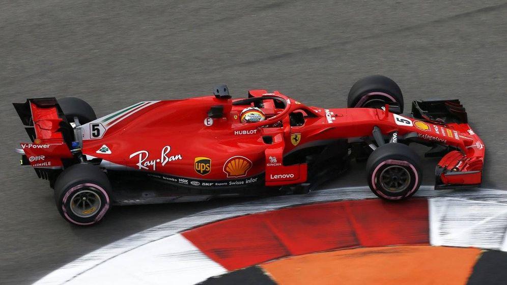 Foto: Vettel dominó la primera sesión de entrenamientos libres. (Twitter:@F1)