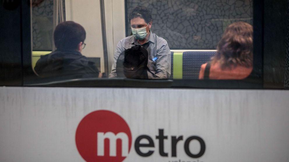 Investigan la detención de un hombre en el metro de Valencia por llevar mal la mascarilla: ¿Es porque soy negro?
