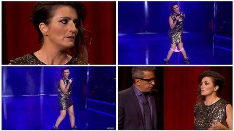 Silvia Abril parodia la actuación de Barei en Eurovisión: se le caen las bragas cantando el 'Say yay!'