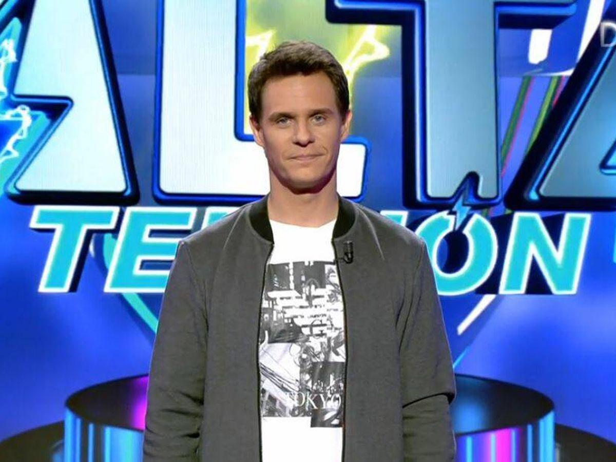 Foto: Christian Gálvez, presentador de 'Alta tensión'. (Mediaset España)