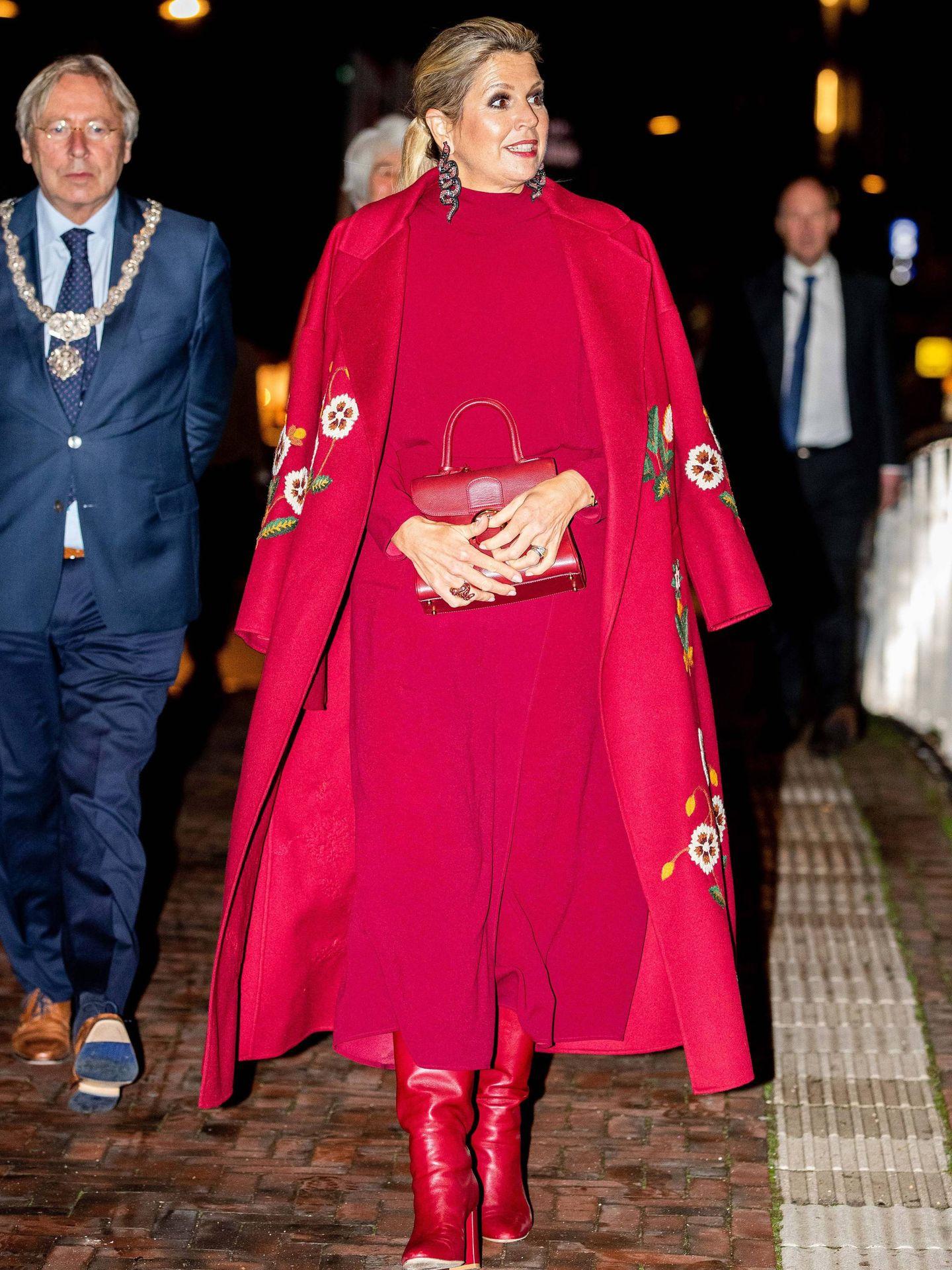El look de la reina Máxima. (CP)