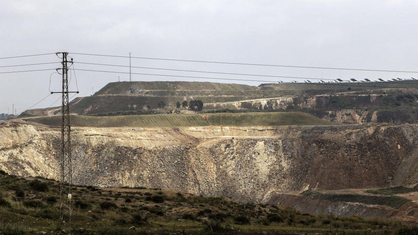 Foto: Foto de archivo de la mina de Aznalcóllar. (EFE)