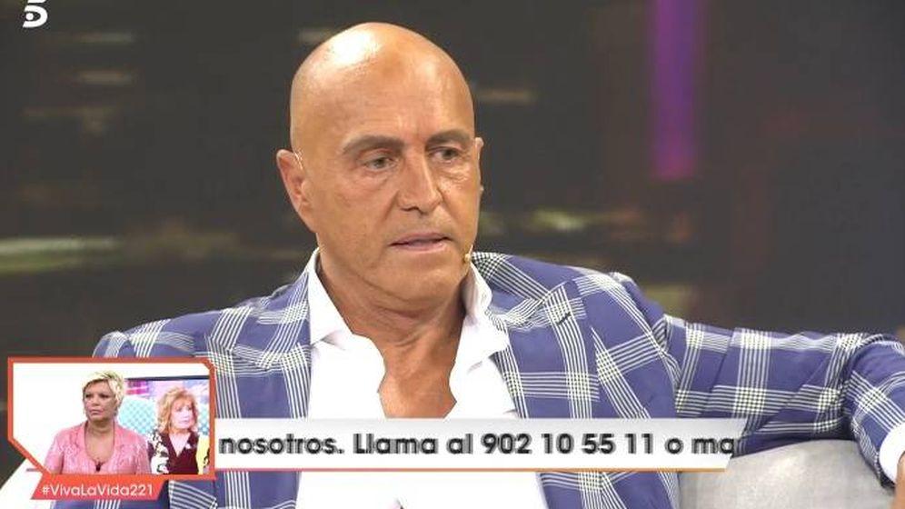 Foto: Kiko Matamoros, en 'Viva la vida'. (Telecinco).