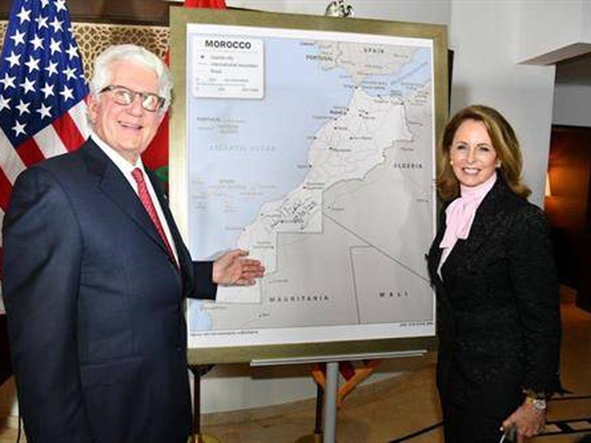 Foto: El embajador estadounidense en Marruecos, David Fischer. (Embajada de EEUU en Marruecos)