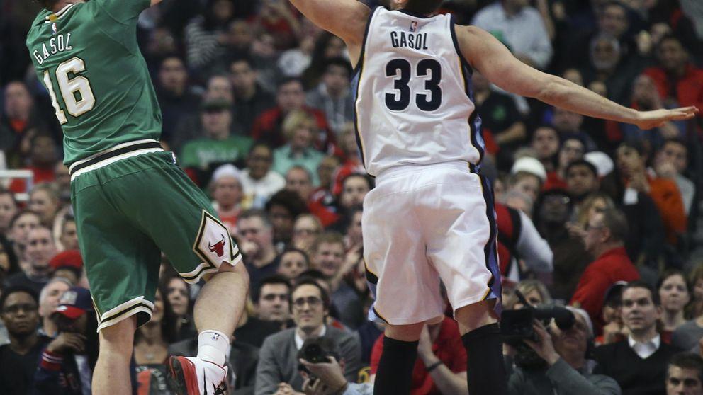 Marc Gasol, primer español en entrar en el mejor quinteto de la NBA