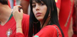 Post de Georgina Rodríguez (y su anillazo), en el Mundial para animar a Cristiano Ronaldo