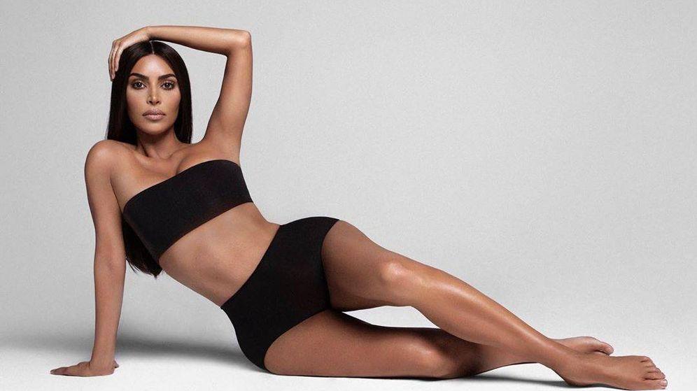 Foto: Kim Kardashian. (Skims)
