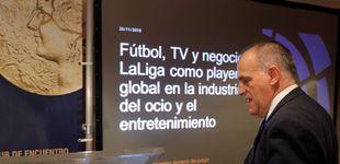 Post de Por qué Javier Tebas (presidente de LaLiga) es votante y defensor en público de Vox