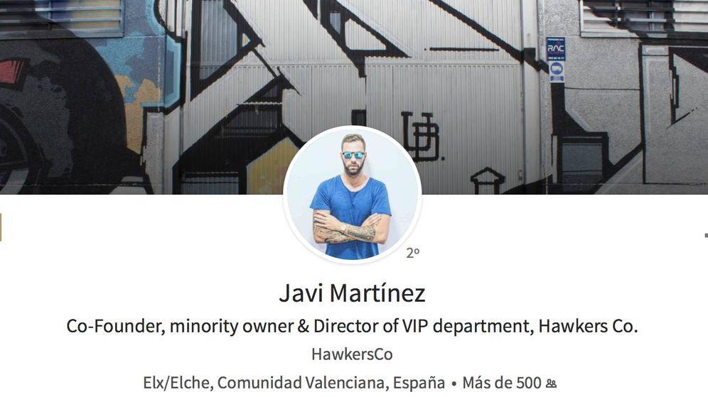Foto: El perfil de Linkedin de Javi Martín, acusado de conducción temeraria.