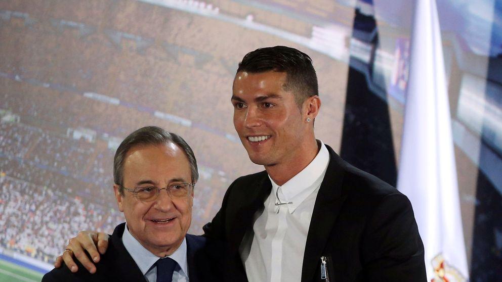 Cristiano se distancia de Florentino a la espera de una mejora de su contrato