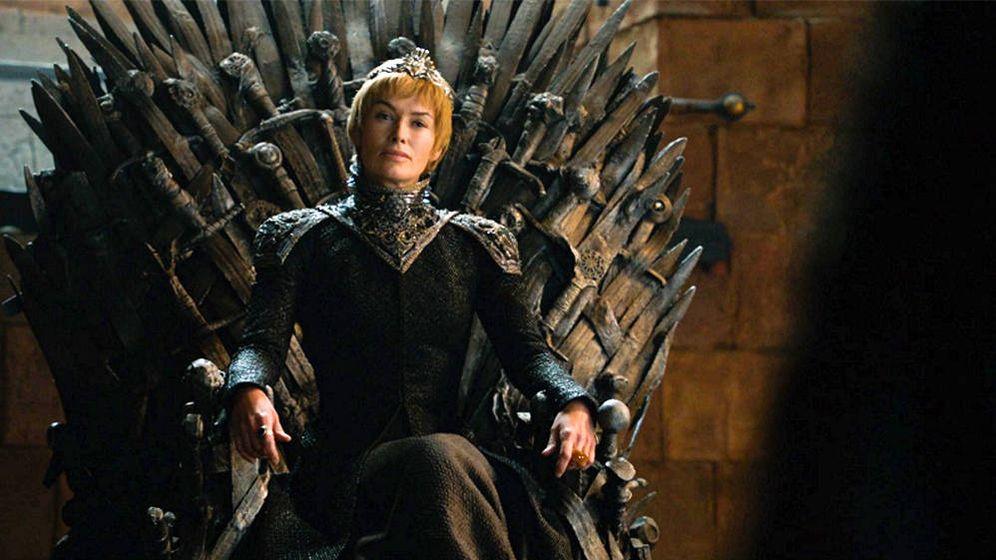 Foto: Cersei en el Trono de Hierro de 'Juego de Tronos'.