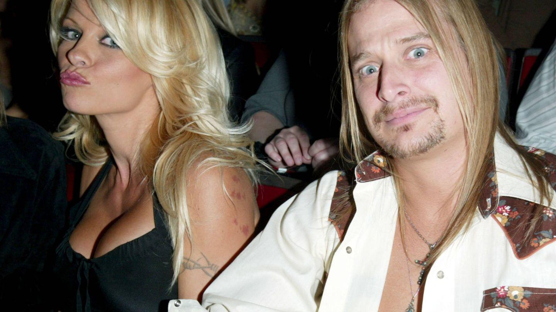 Pamela y Kid Rock en 2003. (Getty)
