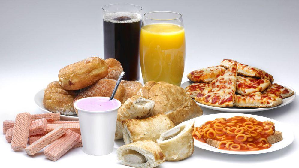 Foto: Una variedad de productos procesados. (iStock)