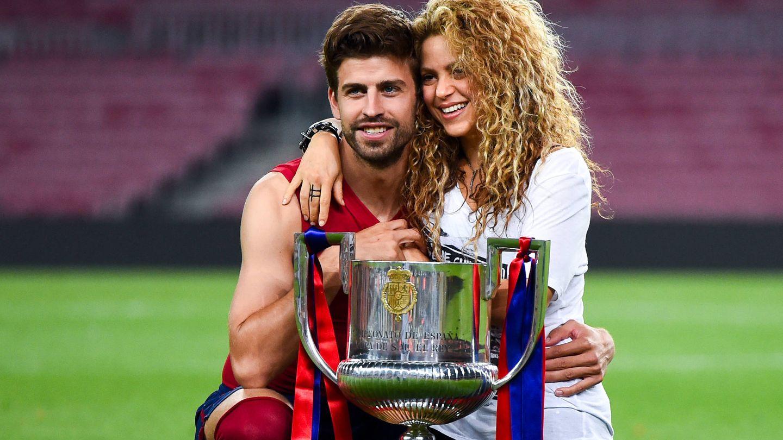 Piqué y Shakira. (Getty)
