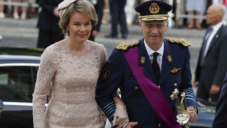 Los reyes Matilde y Felipe de Bélgica, en una imagen de archivo. (EFE)
