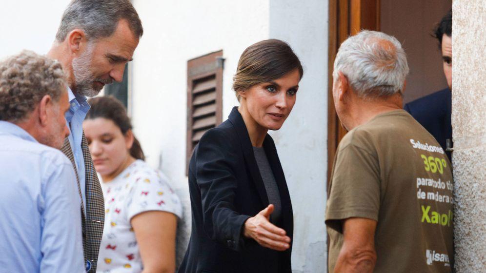 Foto: La reina Letizia en Mallorca. (Getty)