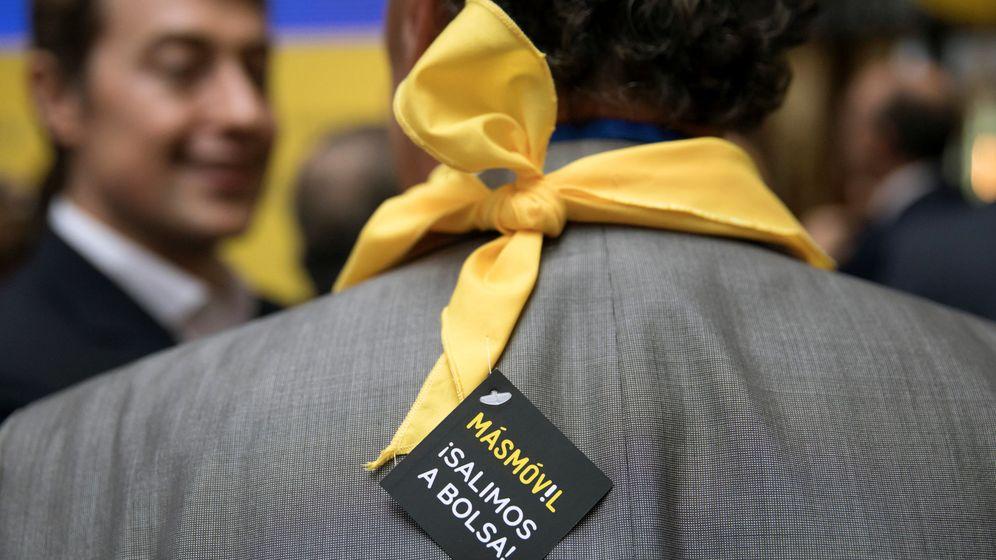 Foto: Debut de MásMóvil en bolsa (Reuters)