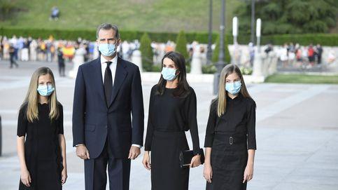 Álbum: los Reyes, Leonor y Sofía presiden el funeral por las víctimas del covid-19
