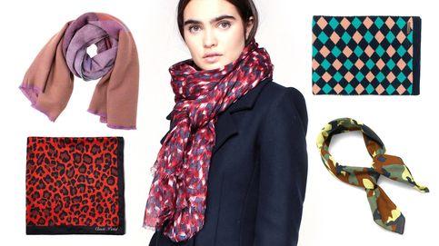 Bufandas y pañuelos, 20 formas de envolverte este invierno