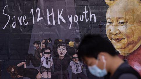 Mural en apoyo a hongkoneses detenidos en Shenzhen
