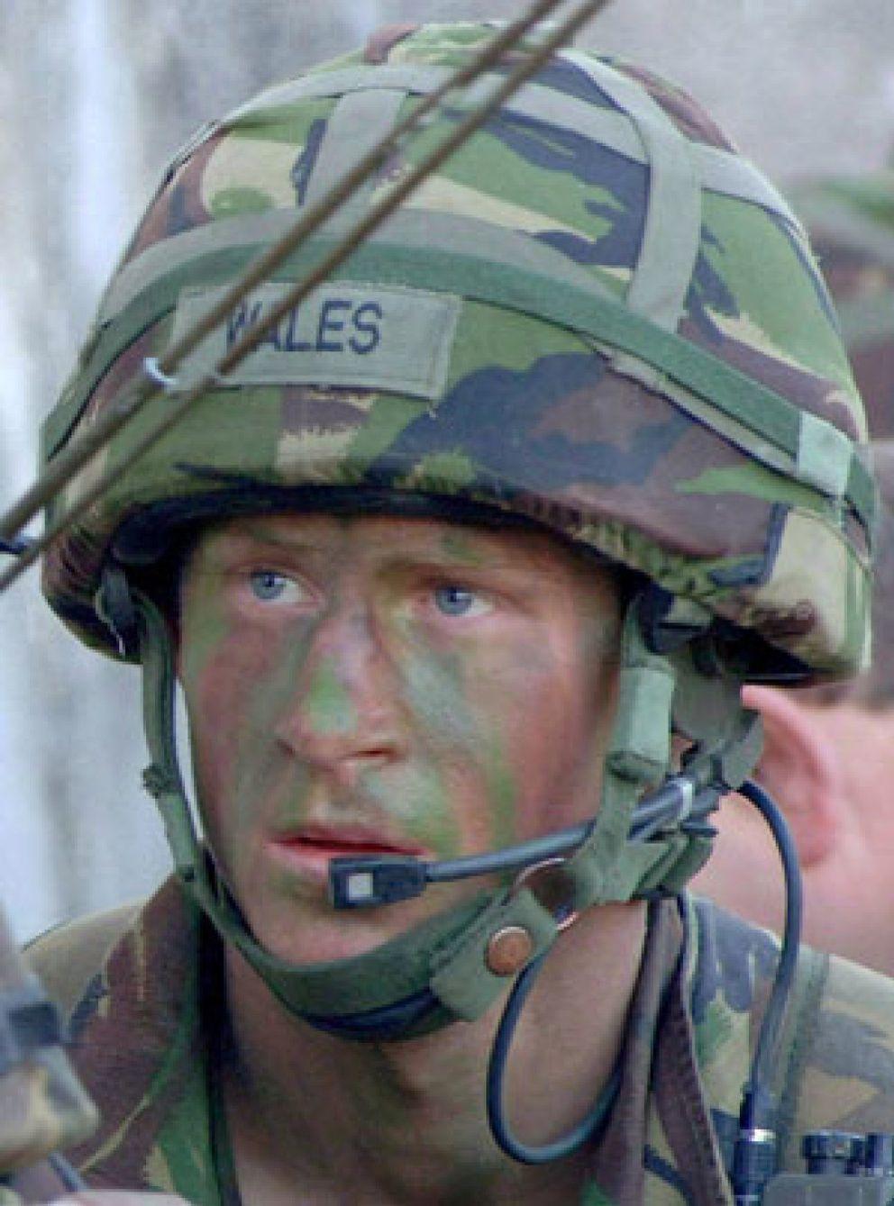 Foto: El Príncipe Enrique combate en Afganistán contra los talibanes como militar
