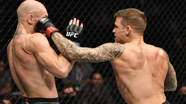 McGregor buscó llevar la pelea a su terreno. (Usa Today)