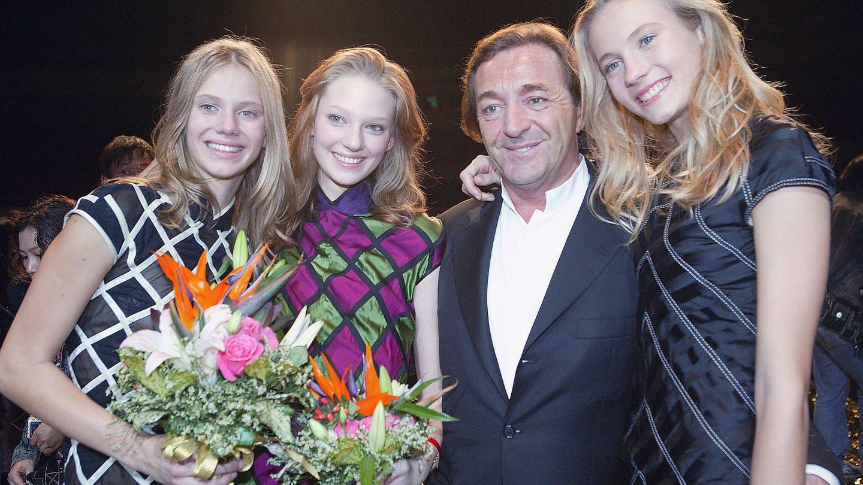 Gérald Marie, en la final del concurso Elite Model Look 2005. (Getty)