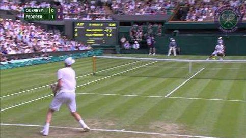 La magia de Roger Federer sobre la hierba de Wimbledon