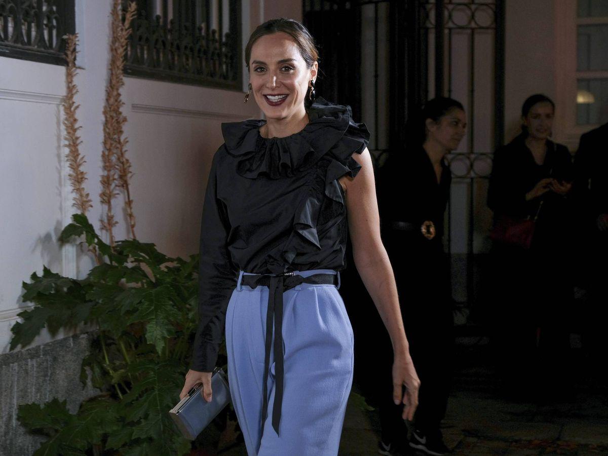 Foto: Tamara Falcó, llegando a un evento hace unos días. (Oscar Gonzalez/NurPhoto)