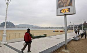España se encuentra bajo cero: la nieve llegará hoy hasta la costa andaluza