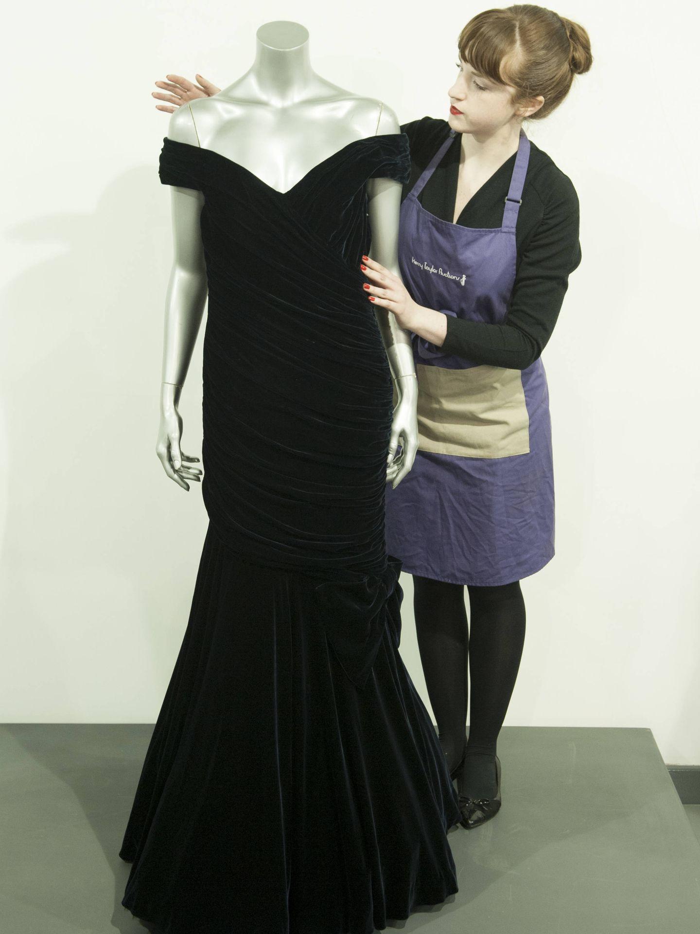 El emblemático vestido. (Getty)