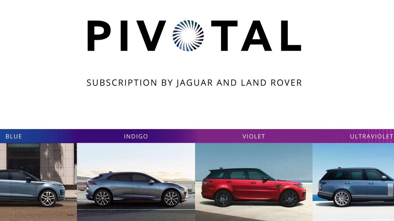 Este es el primer emblema de Jaguar Pivotal.