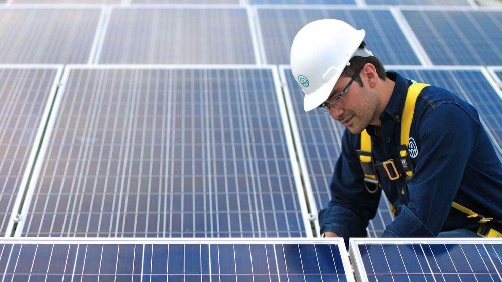 Foto: Planta fotovoltaica. (EFE)