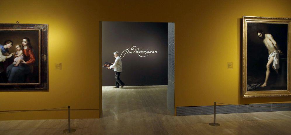 Foto: Una de las salas de la exposición Zurbarán: una nueva mirada, en el Museo Thyssen. (EFE)