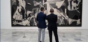 Post de El Rey acompaña a Obama a ver el Guernica en una visita privada