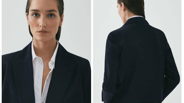 La nueva blazer de Massimo Dutti. (Cortesía)