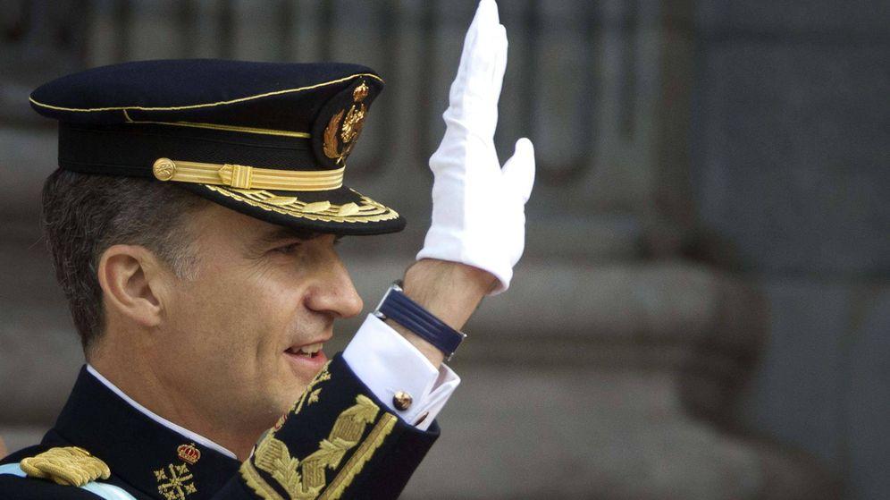 Foto: Felipe VI el día de su proclamación. (EFE)