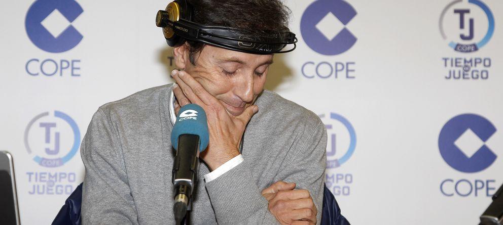 Foto: El periodista este martes en el programa 'Tiempo de Juego' de la COPE (I.C.)