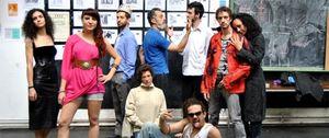 Foto: El movimiento 15M toma el teatro