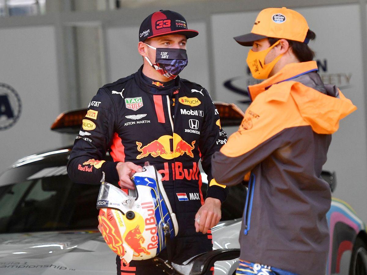 Foto: El duelo de Toro Rosso entre Verstappen y Sainz volverá, aunque ahora en equipos diferentes