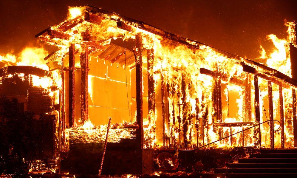 Foto: Las llamas devoran California, Estados Unidos.(EFE)