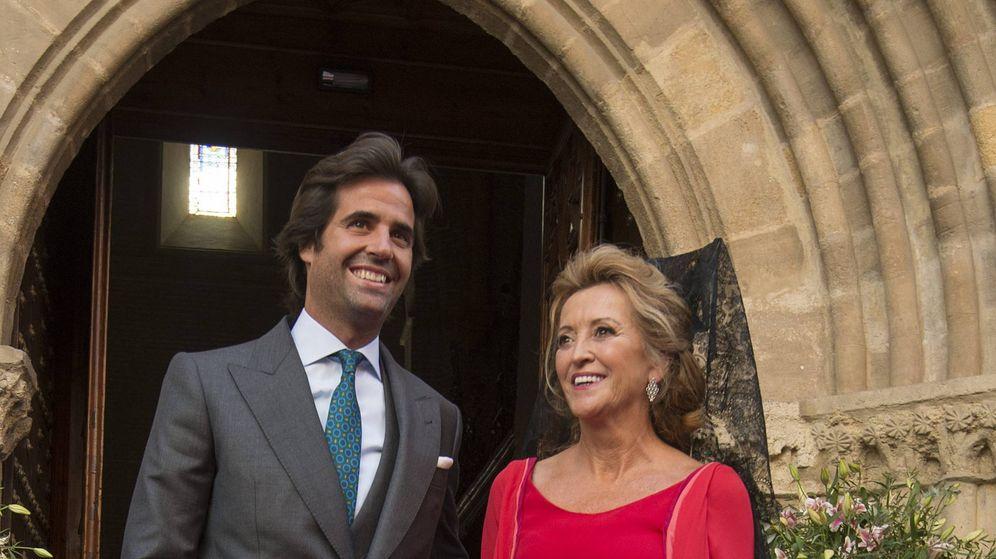 Foto: Álvaro Sanchís, el día de su boda con Sibi Montes. (Cordon Press)