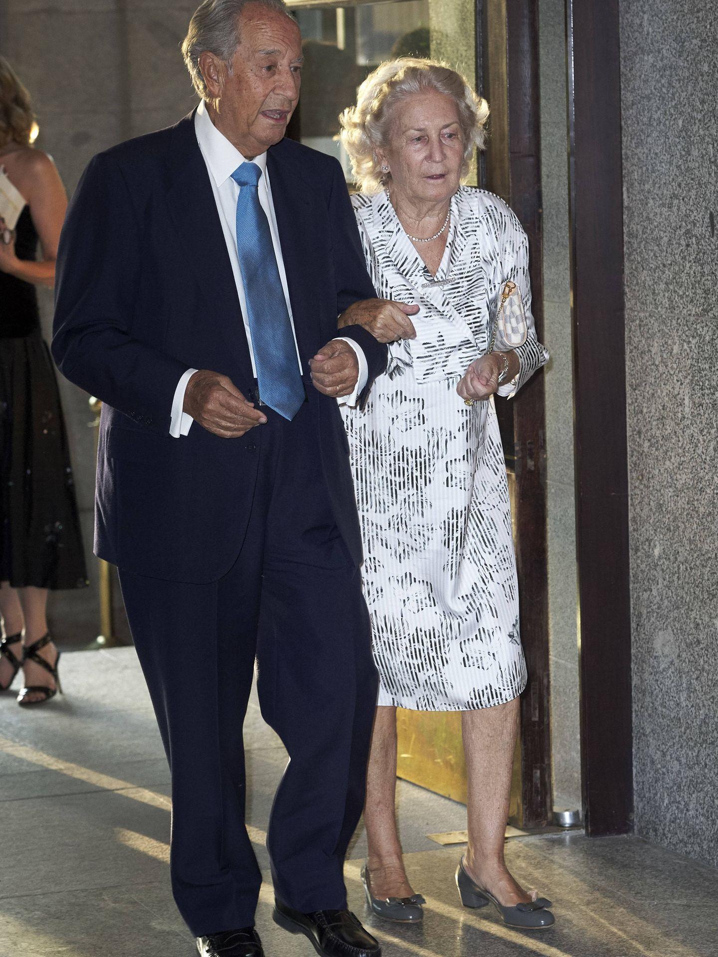 Juan Miguel Villar Mir y Silvia de Fuentes Bescos, en una imagen de archivo. (Getty)